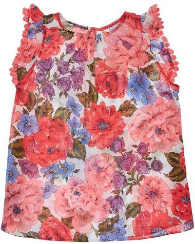 Bawełna bawełna top wzór w kwiaty Zimmermann