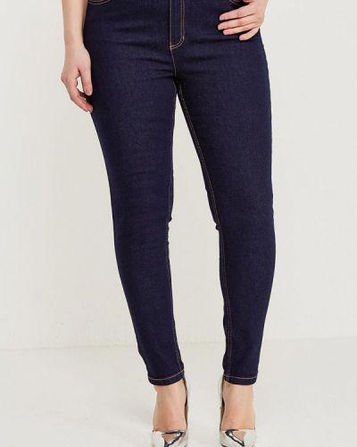 Синие джинсы с высокой посадкой Marks & Spencer