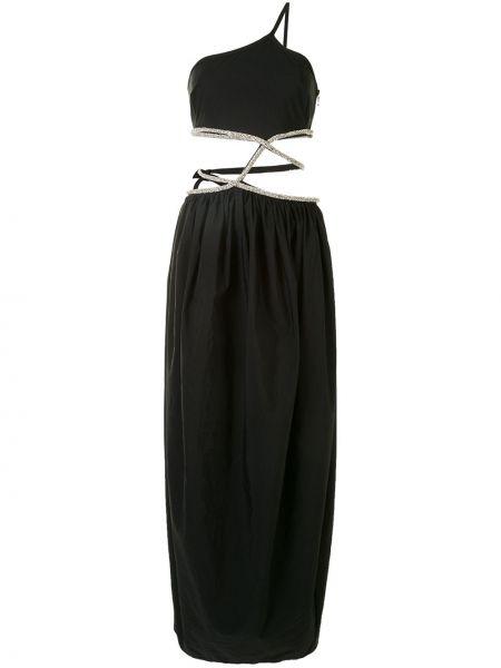 Хлопковое платье - черное Christopher Esber