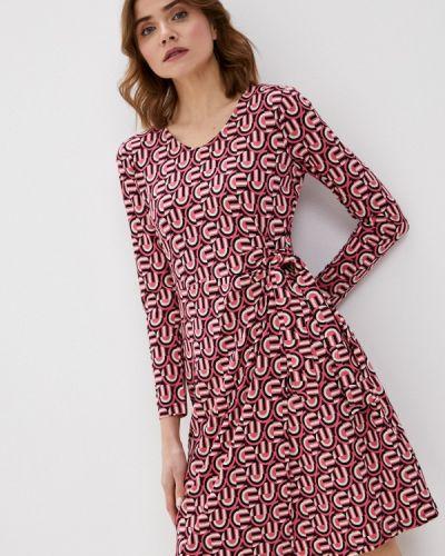 Прямое розовое платье А-силуэта Gerry Weber