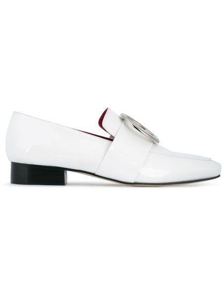Białe loafers skorzane Dorateymur