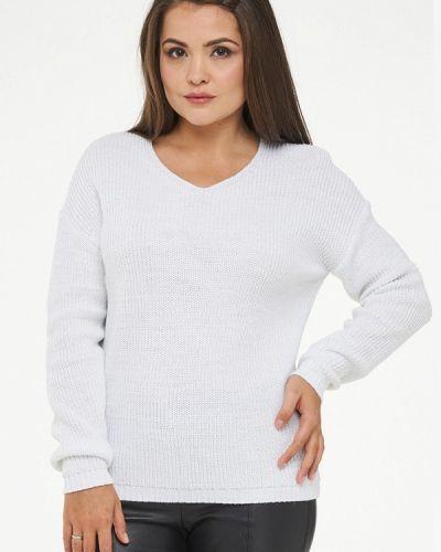 Белый пуловер 2018 Vay