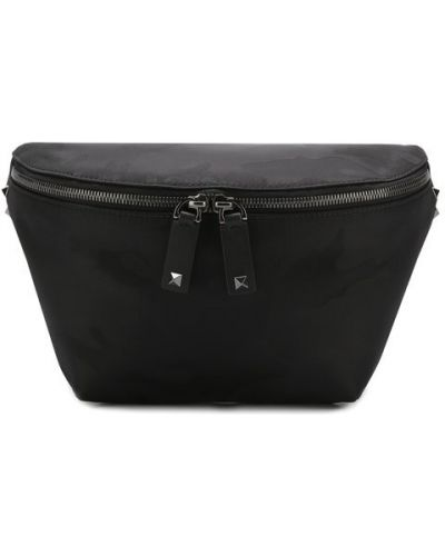 Поясная сумка деловая текстильная Valentino