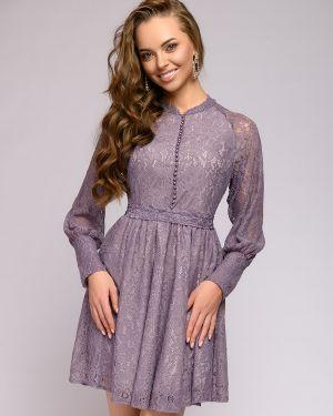 Платье с поясом на пуговицах платье-сарафан 1001 Dress