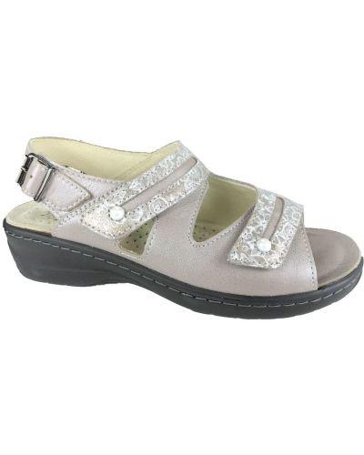 Szare sandały Hickersberger