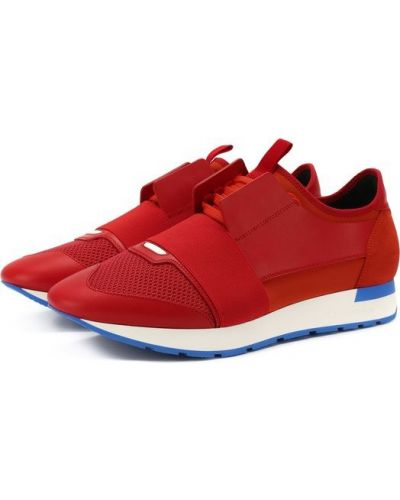 Красные кроссовки Balenciaga