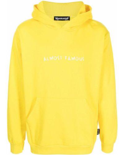 Żółta bluza z printem Nasaseasons