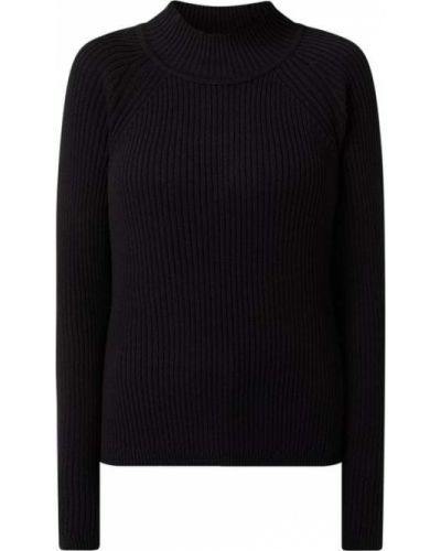 Czarny sweter bawełniany Edc By Esprit