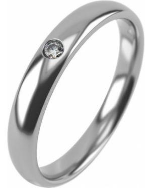 Кольцо серебряный с фианитом Graf кольцов