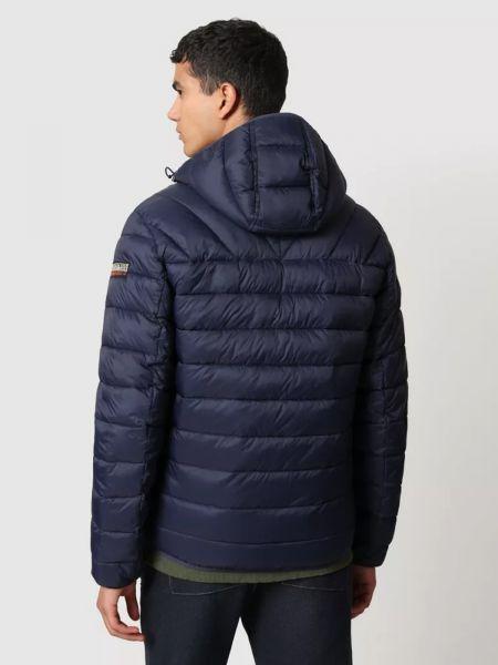 Куртка с капюшоном - синяя Napapijri