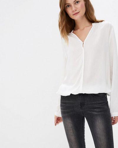 Белая блузка с длинным рукавом Broadway