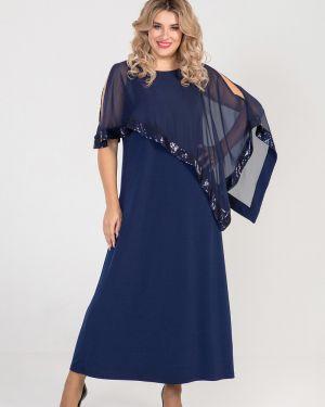 Вечернее платье платье-сарафан шифоновое Luxury