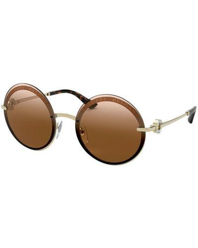 Beżowe okulary Bvlgari