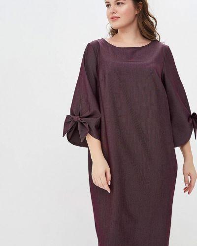 Повседневное платье фиолетовый Montebella Style