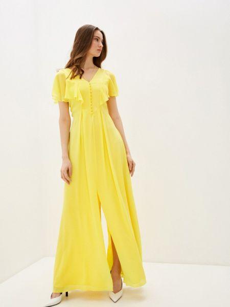 Повседневное платье желтый весеннее Karl Lagerfeld