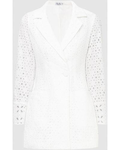 Белый пиджак Charo Ruiz