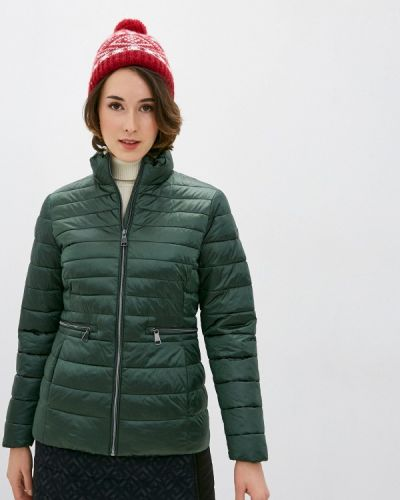 Зеленая утепленная куртка Luhta