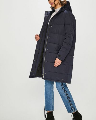Куртка с капюшоном с карманами утепленная Scotch & Soda