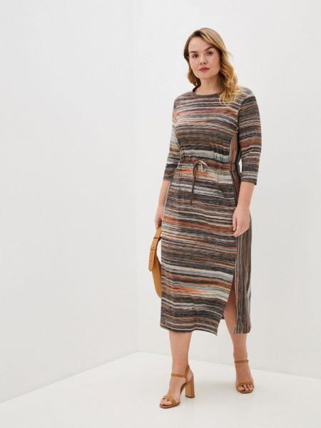 Платье - коричневое Intikoma
