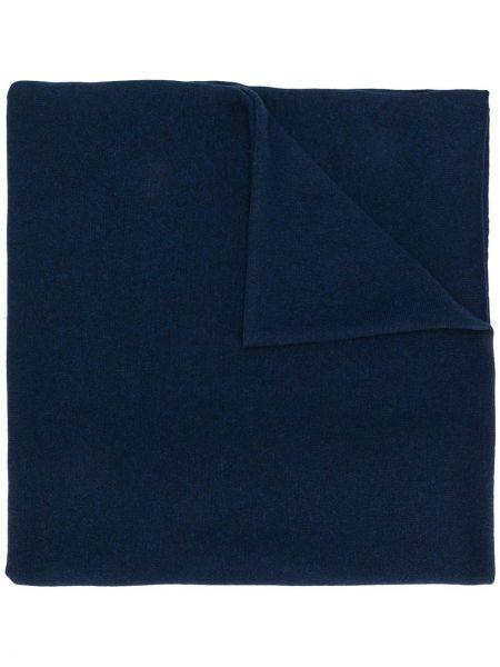 Кашемировый шарф - синий Pringle Of Scotland