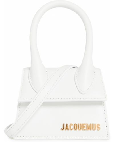 Biała torebka skórzana Jacquemus