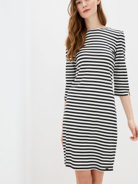 Платье прямое черное Q/s Designed By