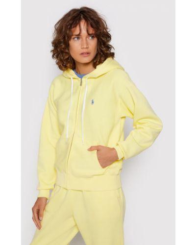 Żółta bluza Polo Ralph Lauren