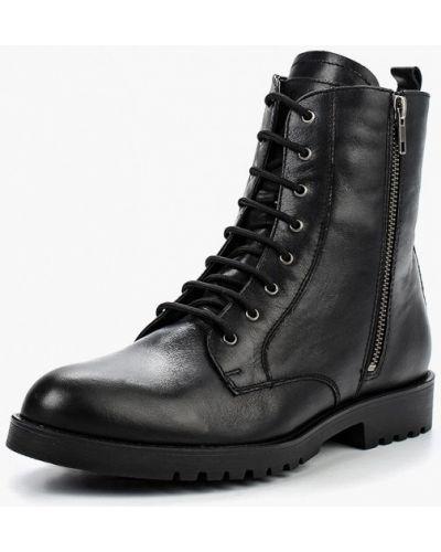 Кожаные ботинки - черные Ralf Ringer