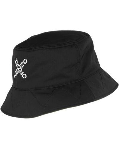Czarny kapelusz z paskiem Kenzo