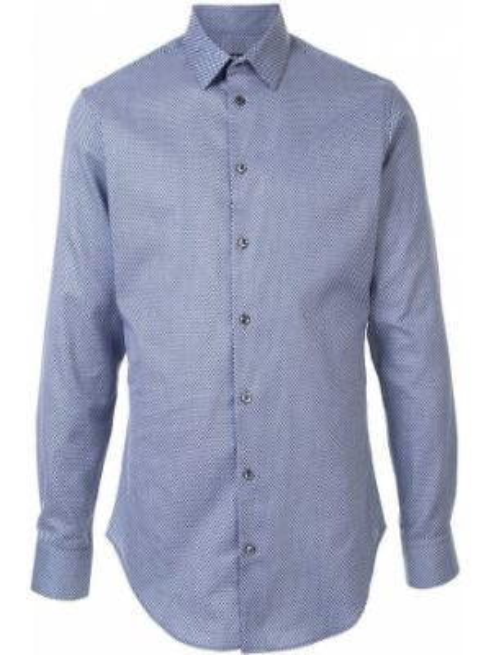 Koszula z długim rękawem klasyczna długa Giorgio Armani