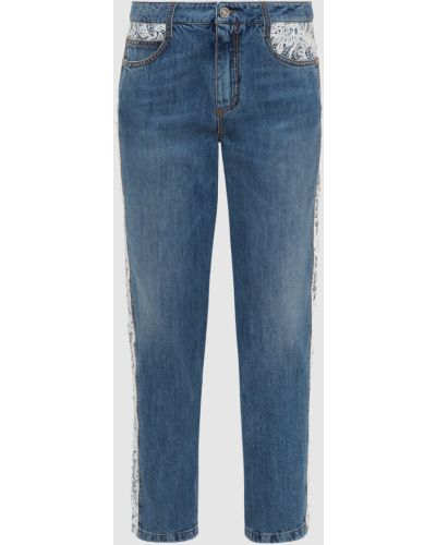 Синие джинсы Ermanno Scervino