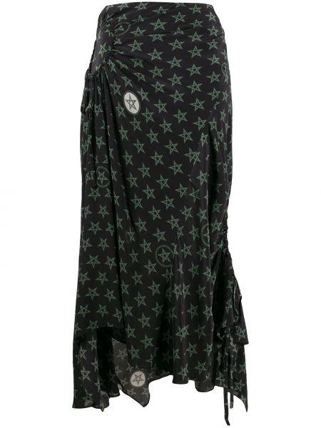 Ажурная юбка макси Preen Line