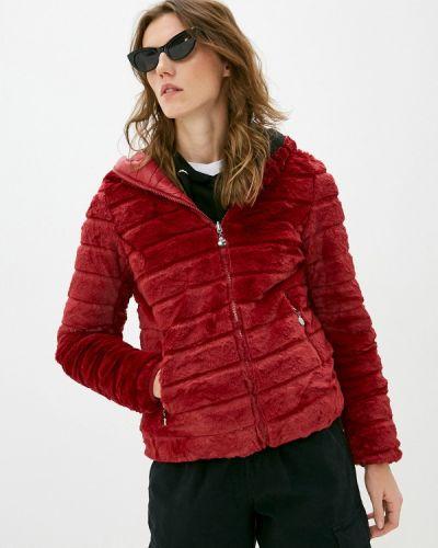 Красная теплая утепленная куртка Z-design