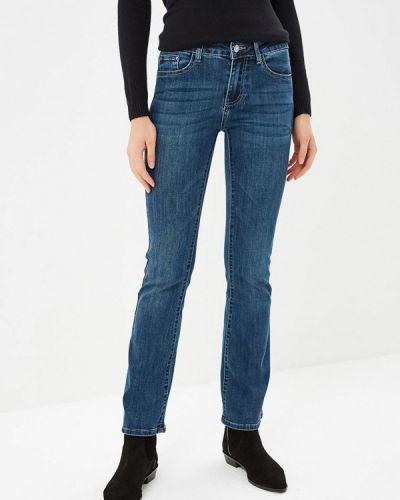 Широкие джинсы расклешенные синие Miss Bon Bon