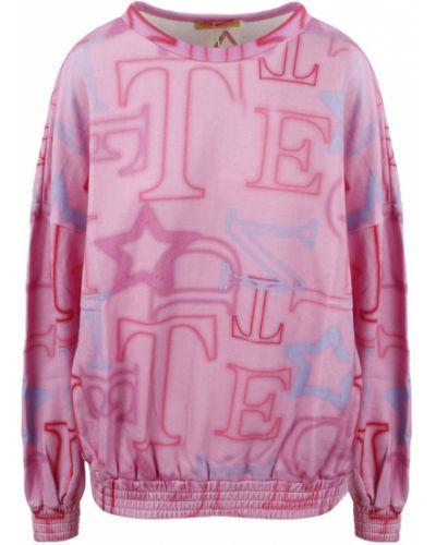 Fioletowa bluza dresowa Teen Idol