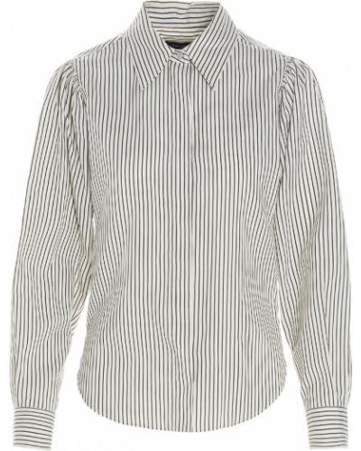 Koszula w paski w paski - beżowa Isabel Marant