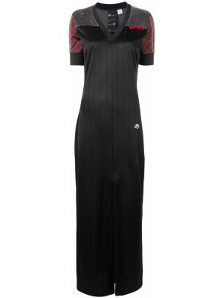 Платье макси длинное - черное Adidas Originals By Alexander Wang