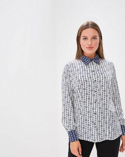 Блузка с длинным рукавом белая весенний Galina Vasilyeva