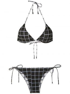 Черные бикини с подкладкой с декоративной отделкой Osklen