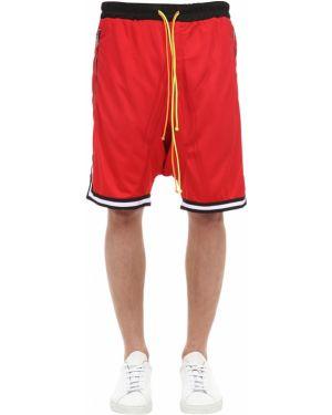 Krótkie szorty w paski bawełniane do koszykówki Norwood Chapters