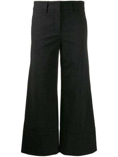 Укороченные брюки свободные с карманами Piazza Sempione
