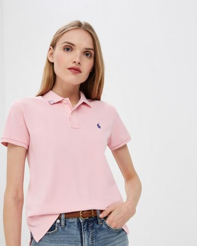 Поло розовый Polo Ralph Lauren