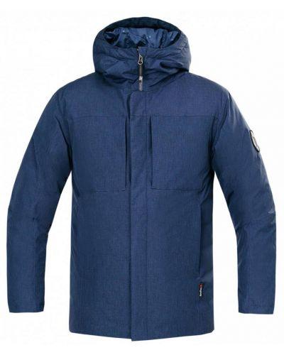 Синяя куртка с капюшоном Red Fox