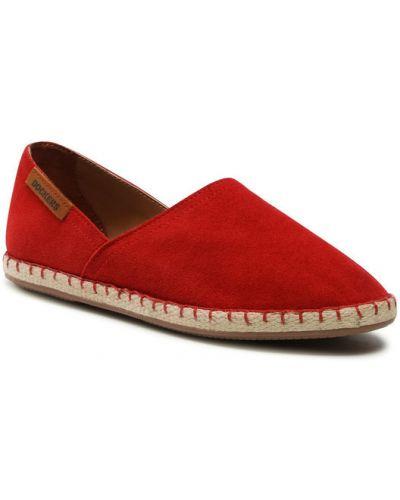 Espadryle - czerwone Dockers By Gerli