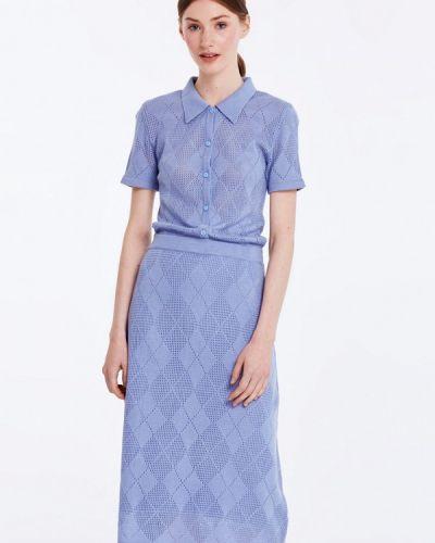 Голубое платье весеннее Musthave