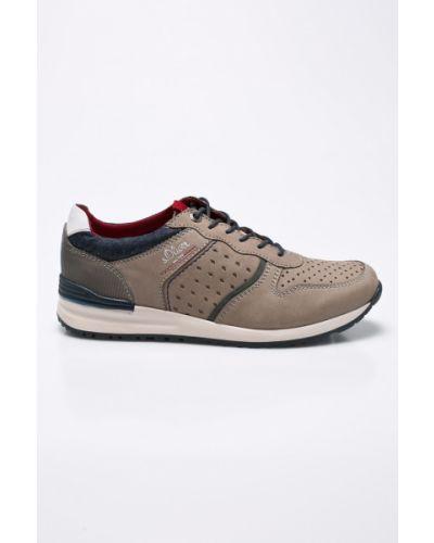 Бежевые кроссовки S.oliver