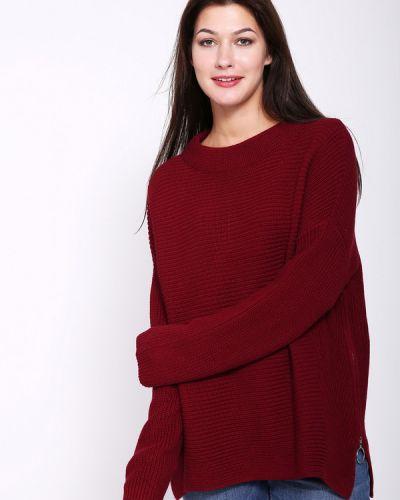 Пуловер бордовый красный Pezzo