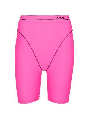Różowe szorty Adam Selman Sport