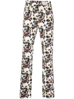 Klasyczne spodnie klasyczne bawełniane z paskiem Garçons Infideles