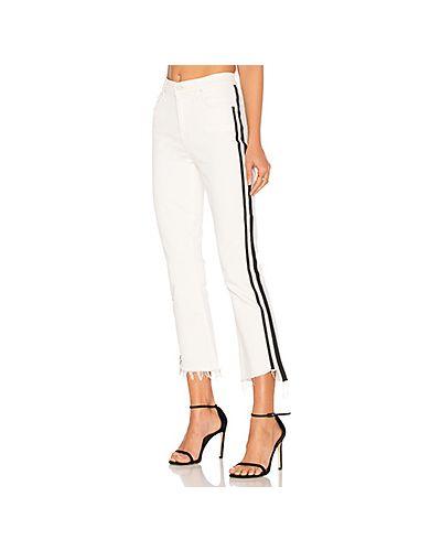 Укороченные джинсы расклешенные Mother